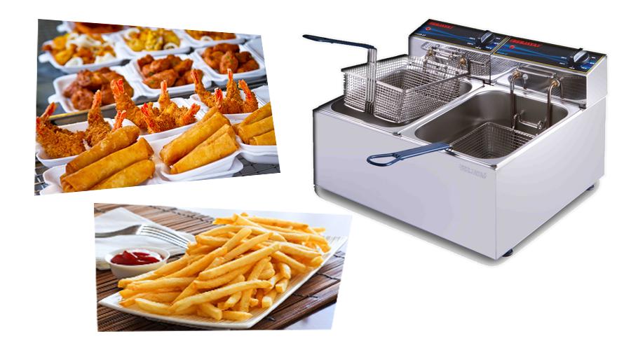 Quy trình sử dụng bếp chiên nhúng điện đôi SDF12D -BERJAYA – MALAYSIA