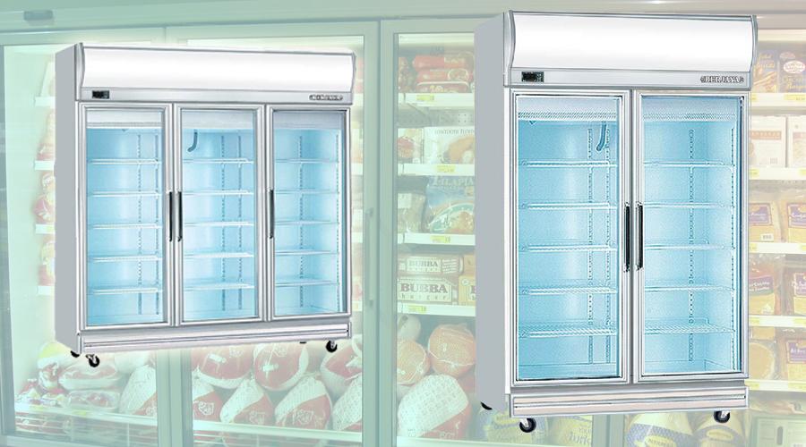 Những lý do nhà hàng nên bảo quản thực phẩm bằng tủ đông cánh kính